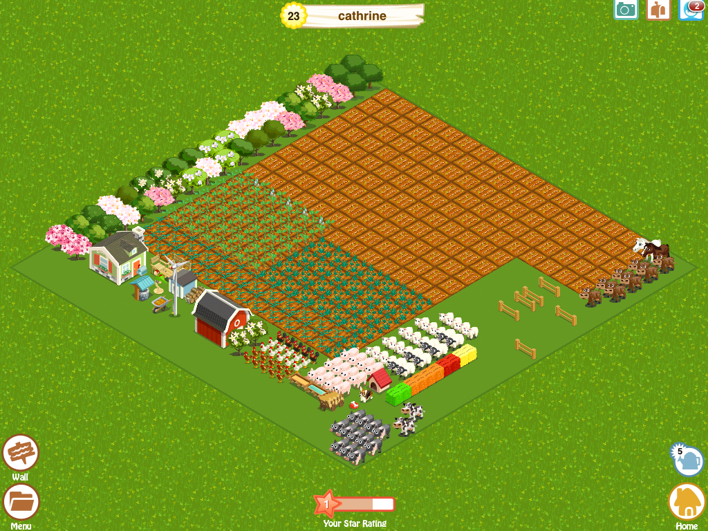 Farm Story iPad This is a whole army of pigs and other dudes :)