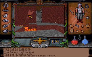 "Ultima Underworld: The Stygian Abyss DOS Warren ""Spectre"" Heheh"