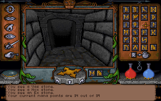Ultima Underworld: The Stygian Abyss DOS Magic is rune-based. Here's my collection of Runes.