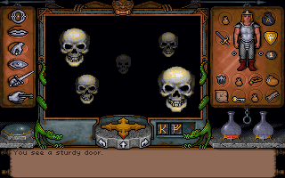 Ultima Underworld: The Stygian Abyss DOS Death waits for no one