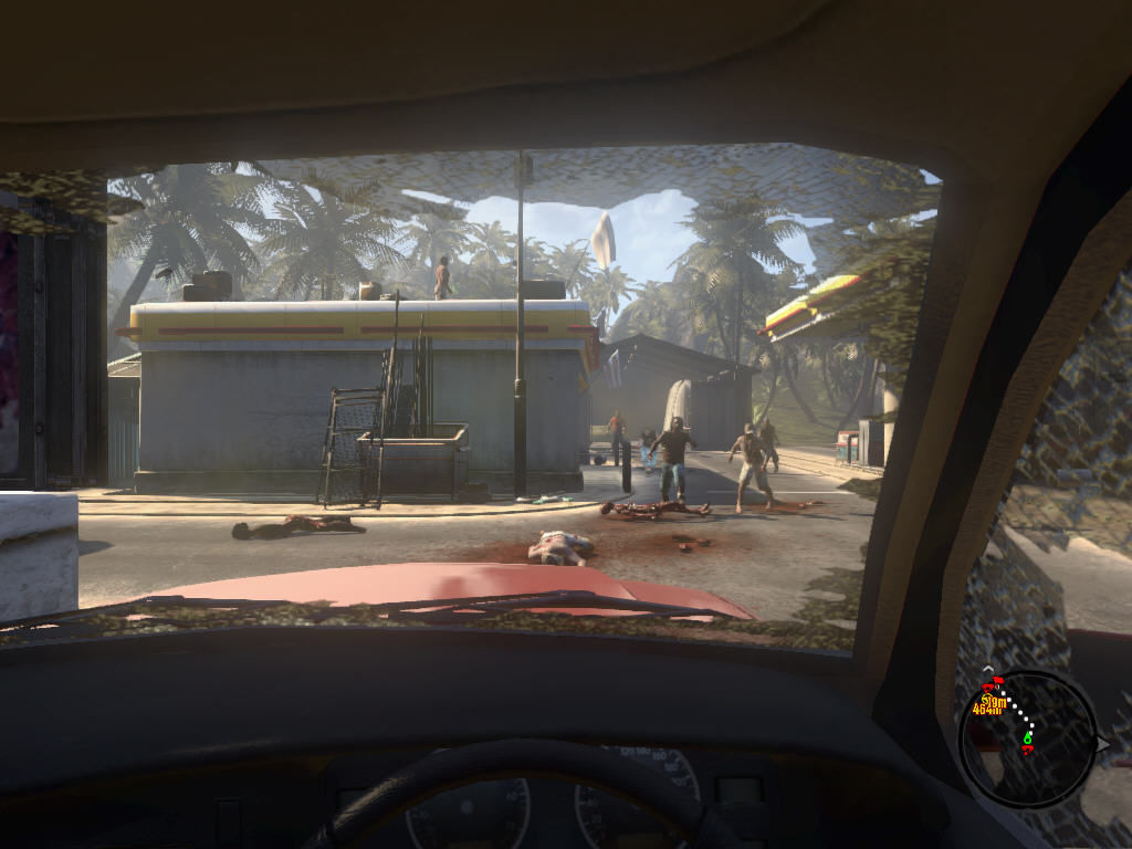 Dead Island Windows ...and such. Certain zombie types are VERY fast; don't think you could always drive faster than they can run