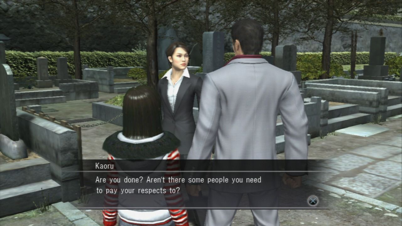 Yakuza 3 LTTP: Kiryu is the best dad ever! (UNMARKED