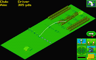 David Leadbetter's Greens Atari ST The driving ranch