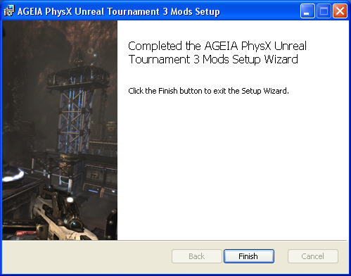 PhysX Extreme Unreal Tournament 3 Mod-Pack Windows Title