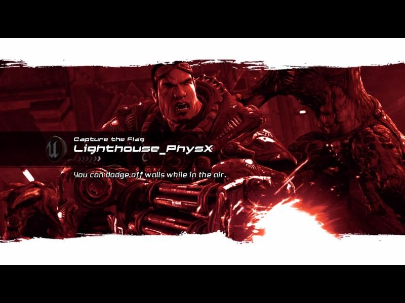 PhysX Extreme Unreal Tournament 3 Mod-Pack Windows Lighthouse_PhysX loading