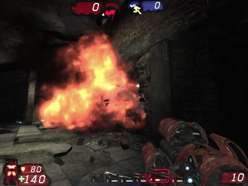 PhysX Extreme Unreal Tournament 3 Mod-Pack Windows Rocket shot into a wall
