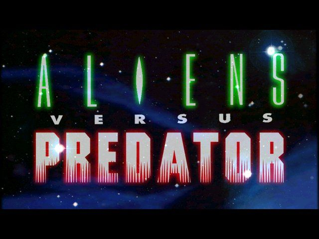 Aliens Versus Predator Windows ingame title