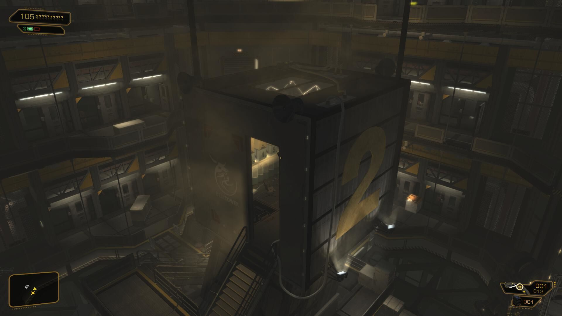 Deus Ex: Human Revolution - The Missing Link Windows The third area of the game