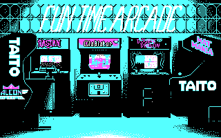 Arkanoid DOS Fun Time Arcade Logo (CGA)