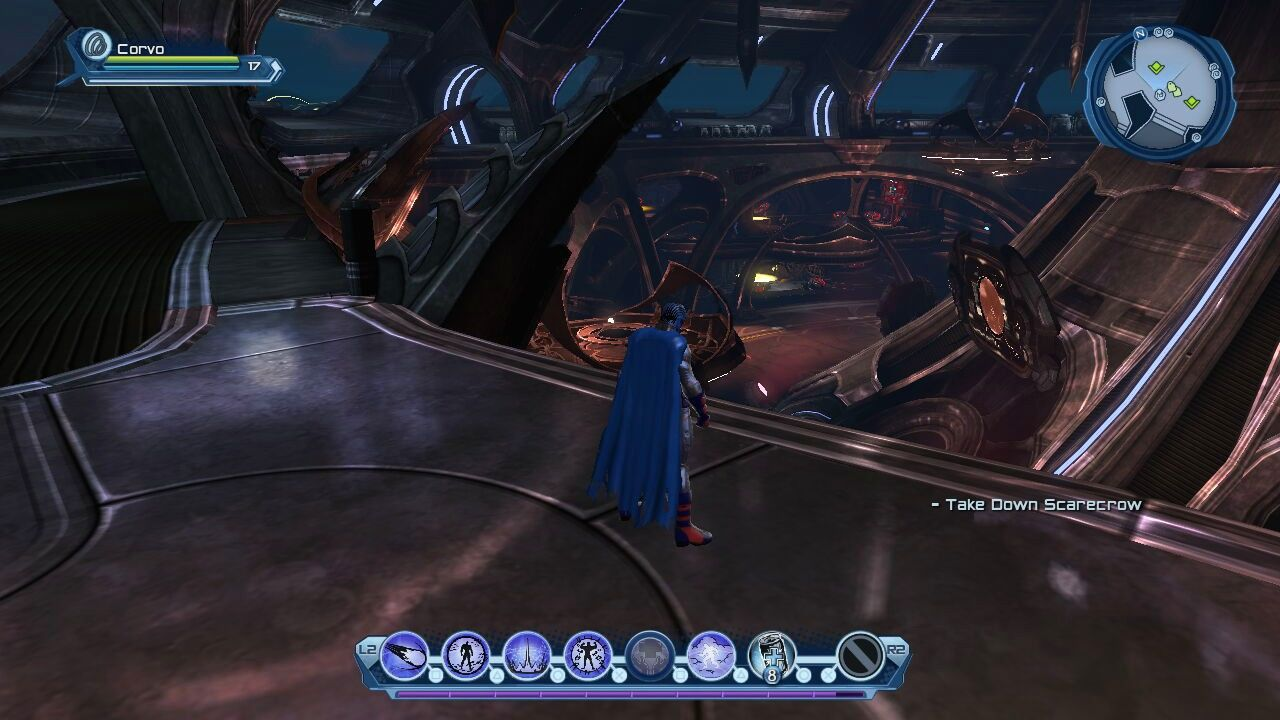 DC Universe Online PlayStation 3 The underwater Hall of Doom acts the HQ for villains.