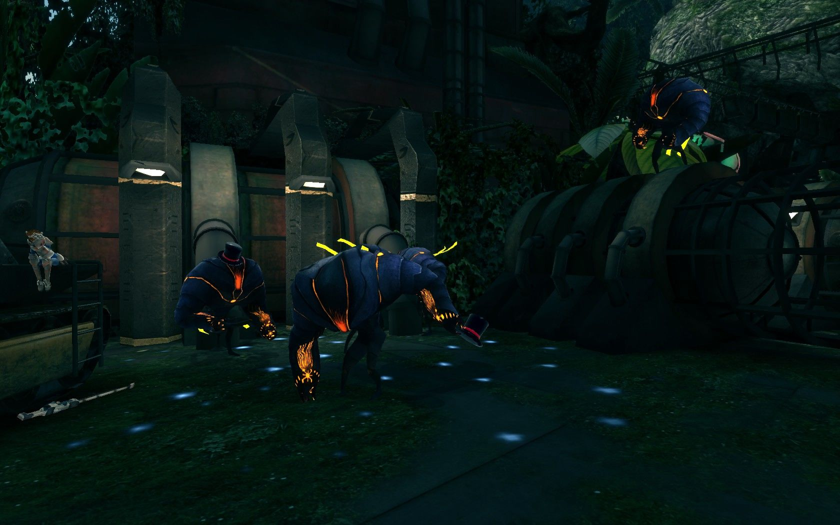 Sanctum Windows Game over - and the enemies do a little dance with their party hats on
