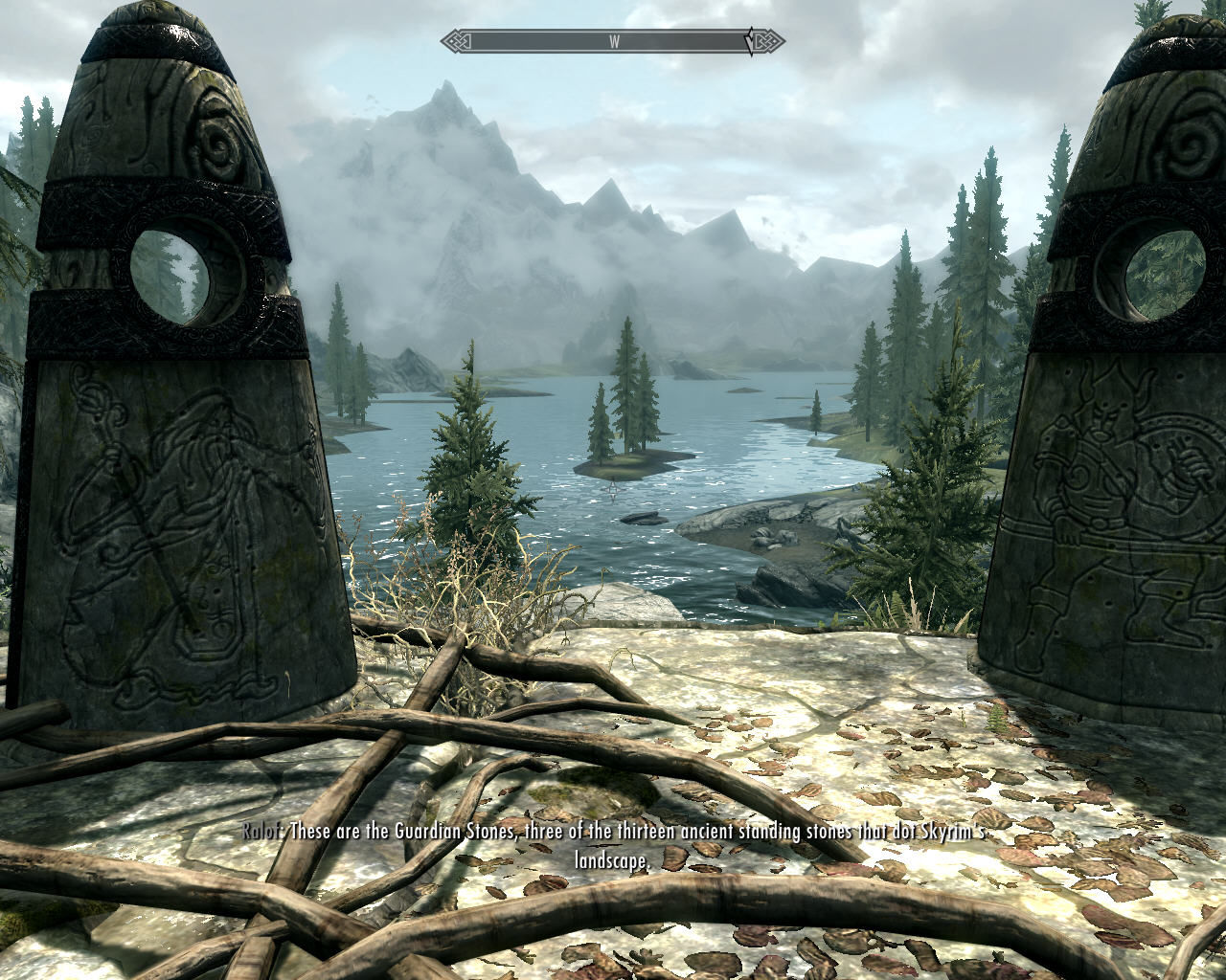 The Elder Scrolls V: Skyrim Windows Hmm, what are those strange symbols?..