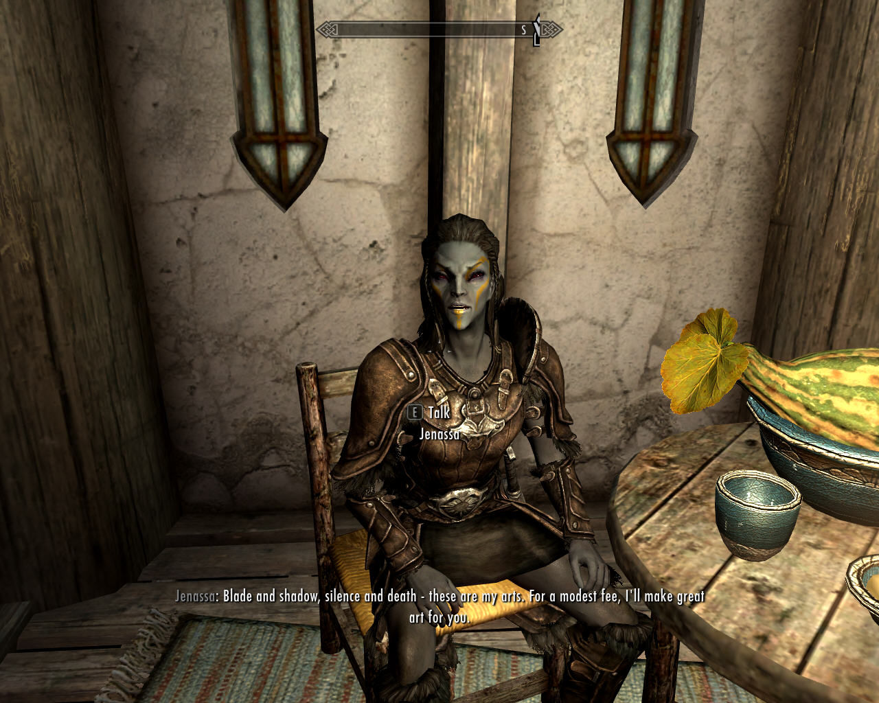 The Elder Scrolls V: Skyrim Windows You'll meet many mysteriously-looking characters with their own agenda
