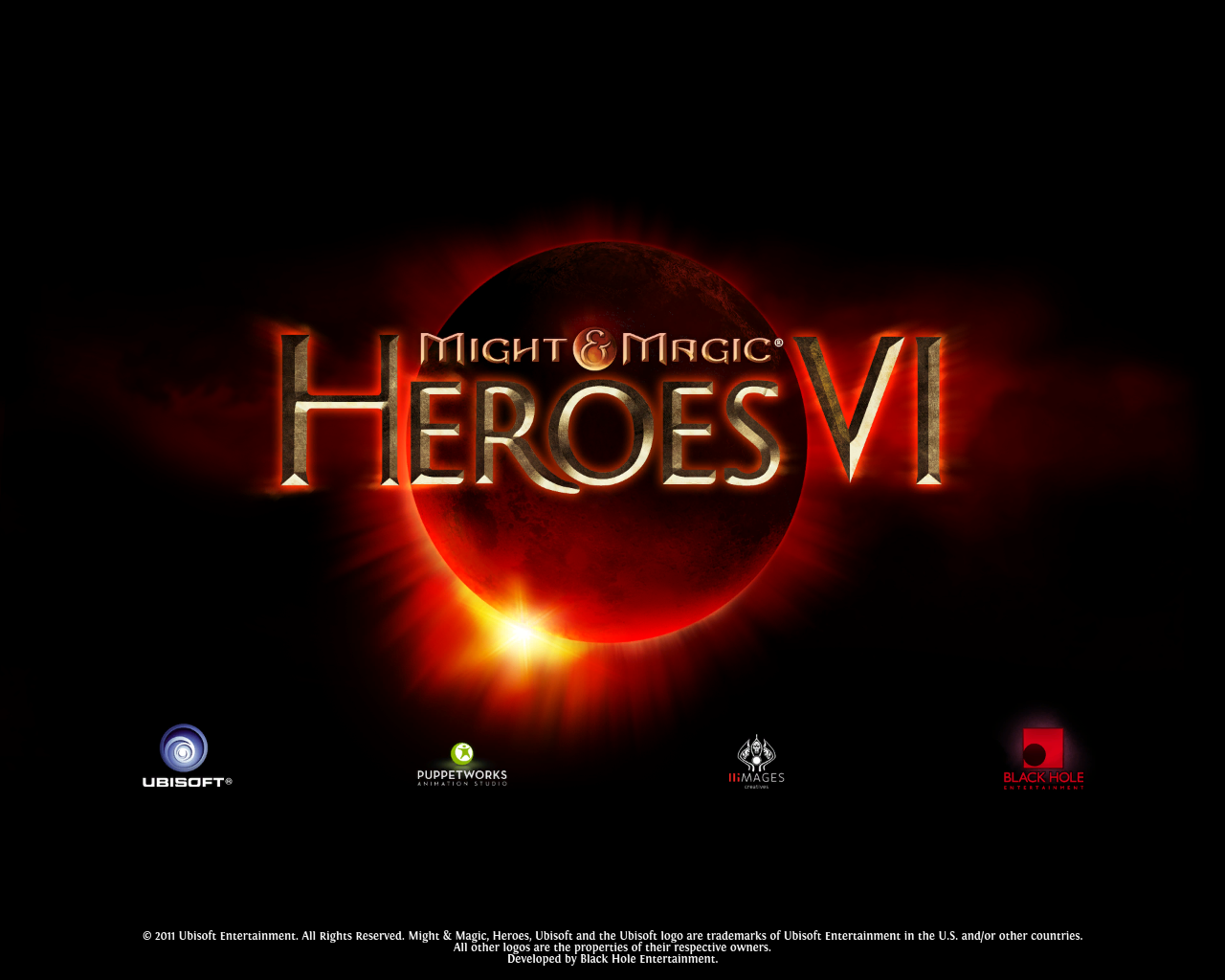 Might & Magic: Heroes VI Windows Splash screen