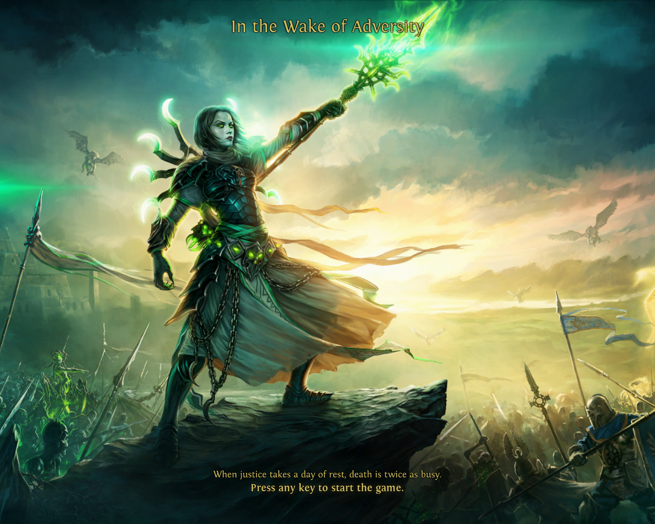 Might & Magic: Heroes VI Windows Necropolis loading screen