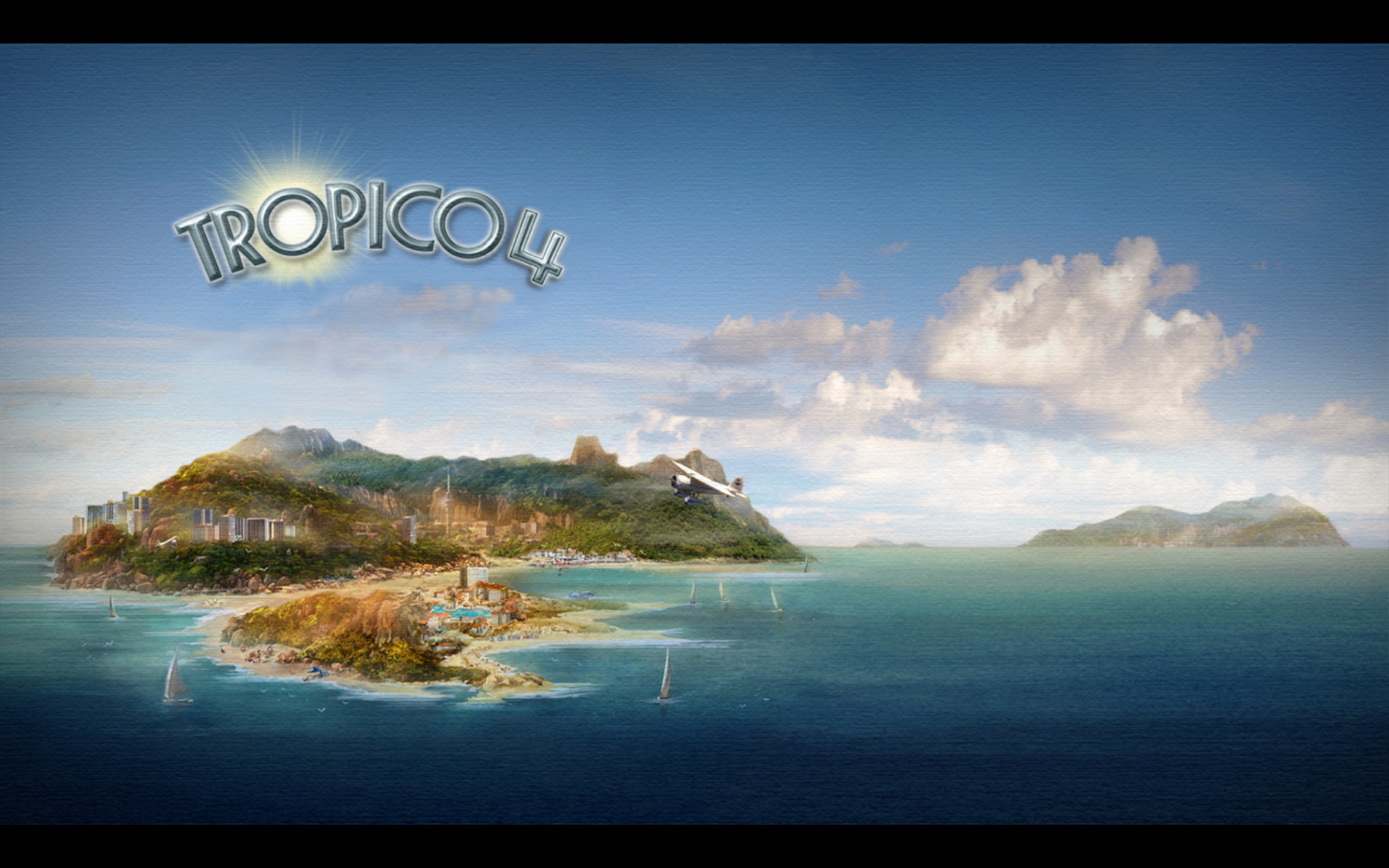 Tropico 4 Windows Title screen