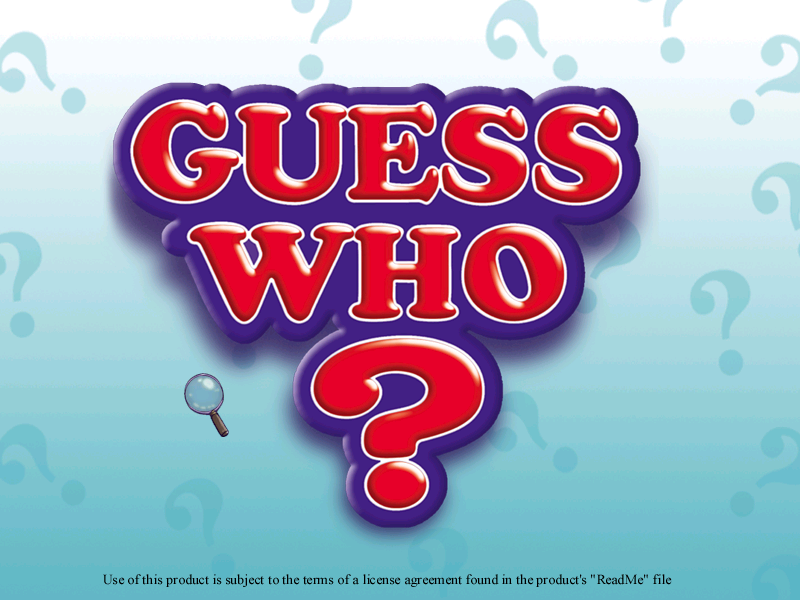 Guess Who Game Logo Related Keywords & Suggestions - Guess Who Game ...