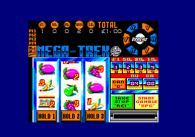 Fruit Machine Simulator 2 Amstrad CPC Round and round and round they go.