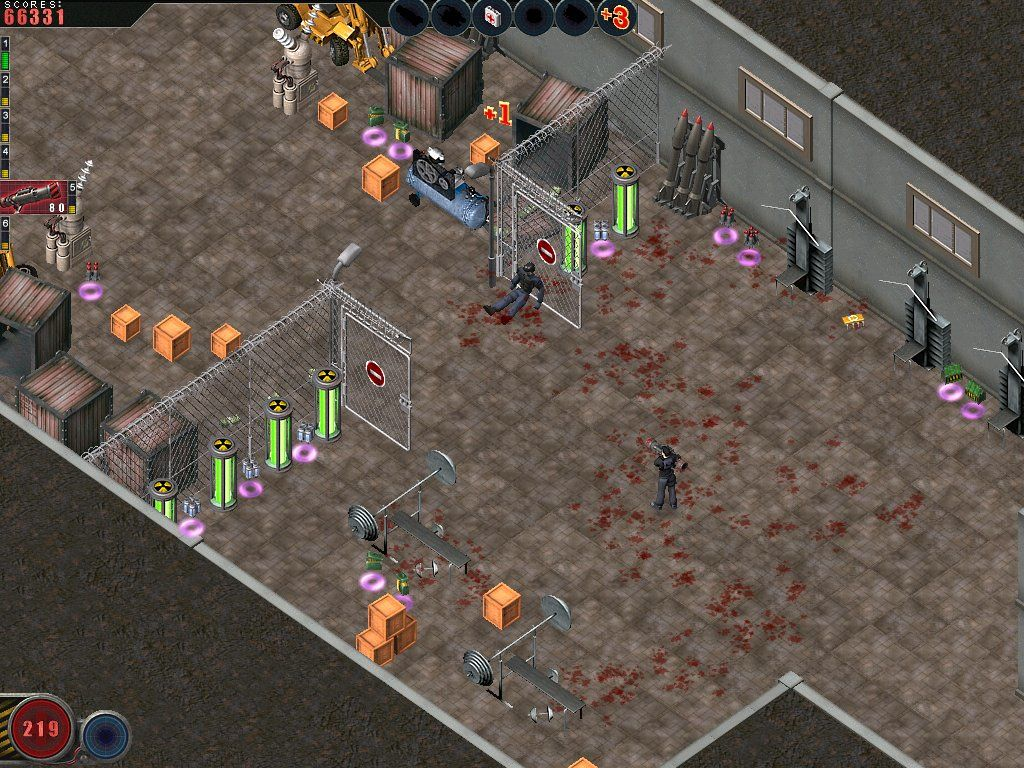 Alien Shooter: The Experiment Windows A nice arsenal to prepare for the big fight ahead.