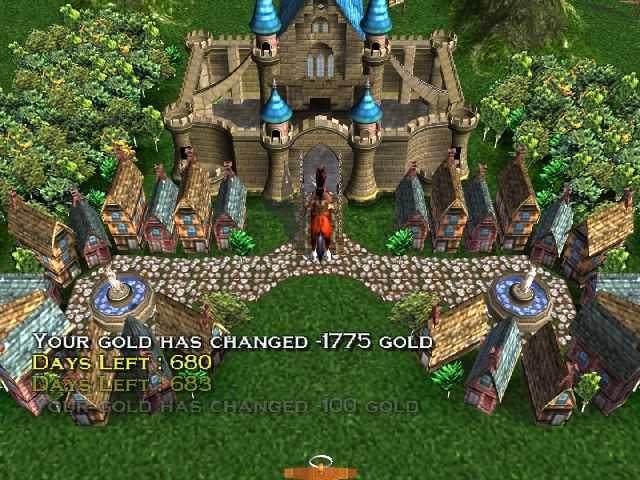 Heroes of Might and Magic: Quest for the DragonBone Staff PlayStation 2 Queen's (and Kings) Castle