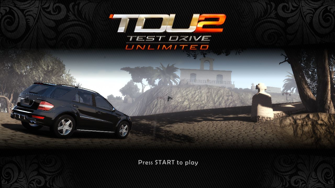 Test Drive Unlimited 2 Windows The Title Screen