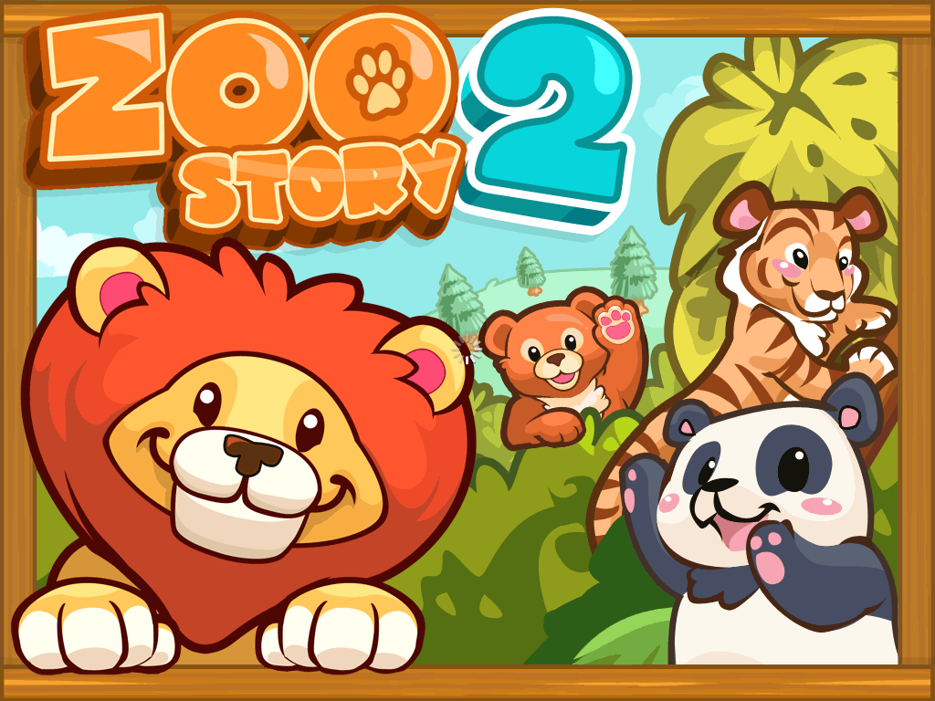 Zoo Story 2 iPad Title screen