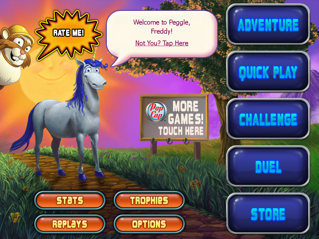 Peggle iPad credits - MobyGames