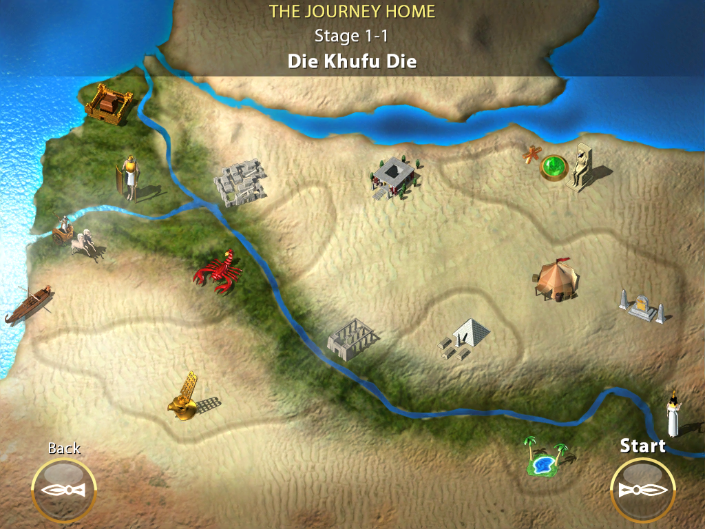 Luxor amun rising screenshots for ipad mobygames adventure game map gumiabroncs Choice Image