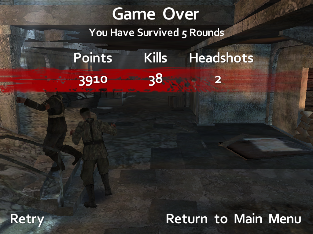Call of Duty World at War Zombies Screenshots for iPad MobyGames