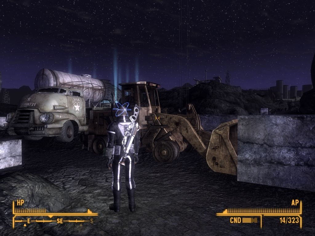 Fallout: New Vegas - Old World Blues Windows Abandoned construction site