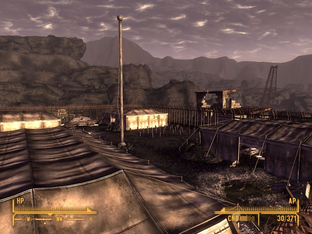 Fallout: New Vegas - Old World Blues Windows Concentration camp for Chinese POWs