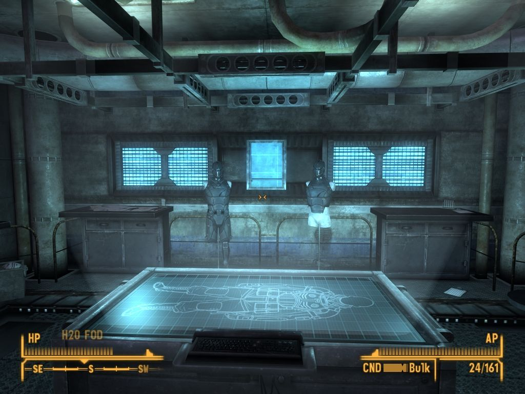 Fallout: New Vegas - Old World Blues Windows Stealth suit research laboratory