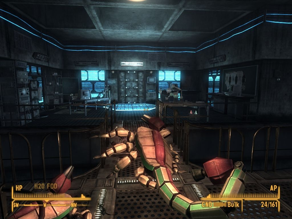 Fallout: New Vegas - Old World Blues Windows Robotic version of wasteland rad scorpion