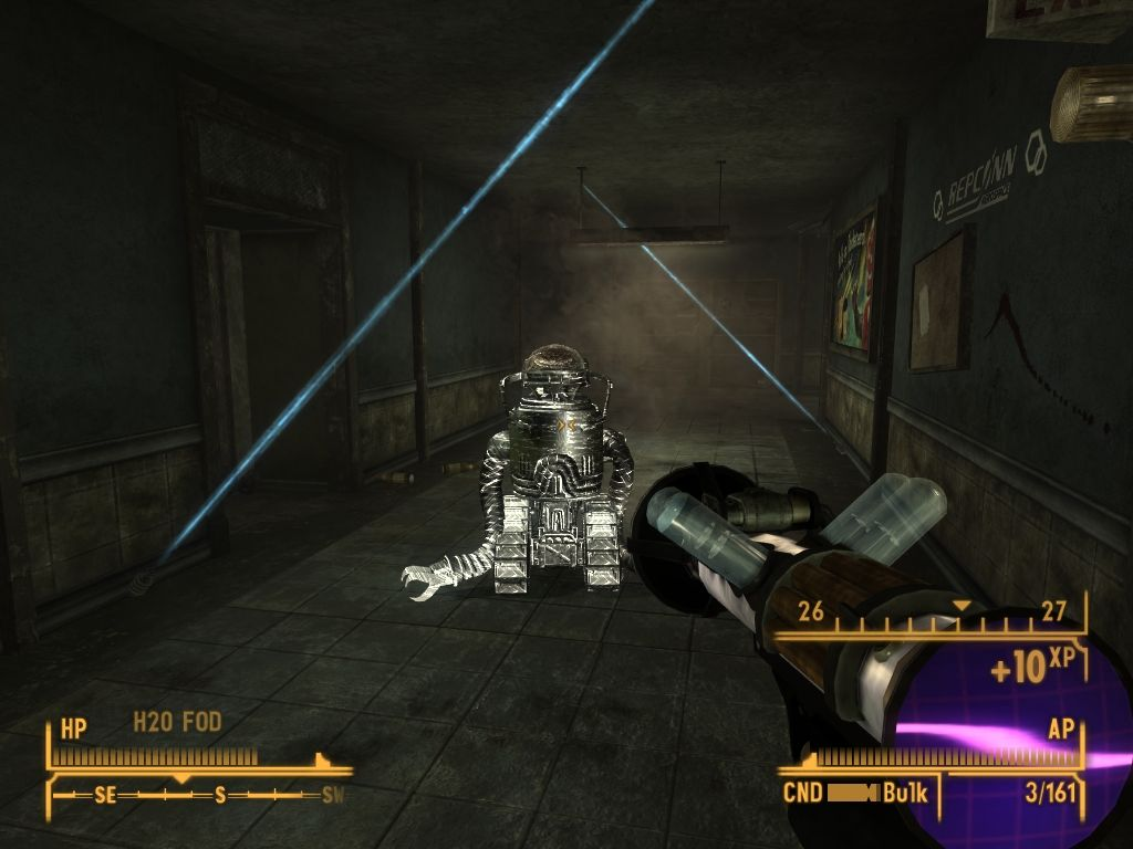 Fallout: New Vegas - Old World Blues Windows Infiltration testing facility