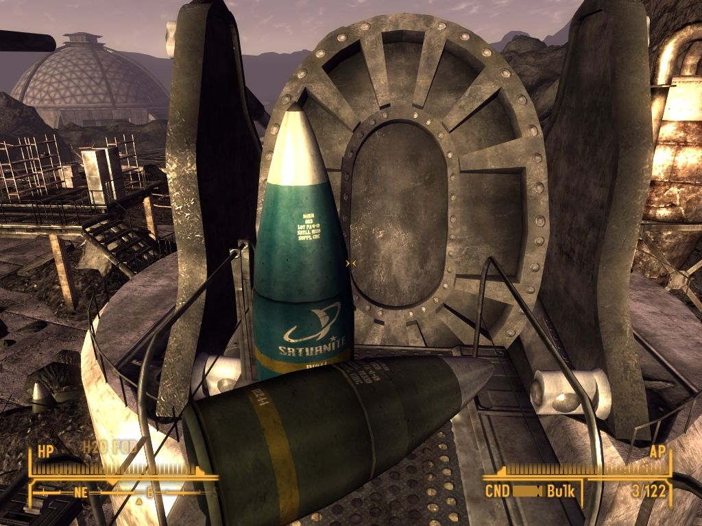 Fallout: New Vegas - Old World Blues Windows That's a big shell