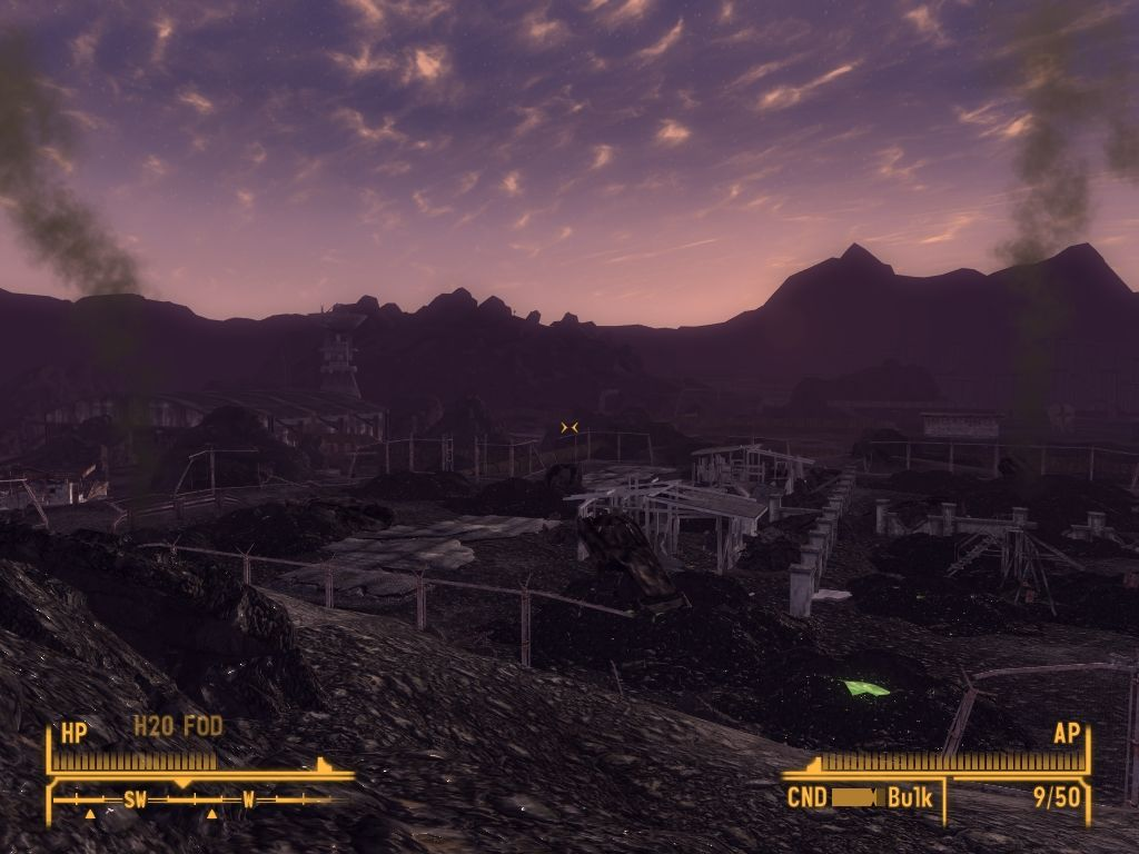 Fallout: New Vegas - Old World Blues Windows Small nuclear weapons test site