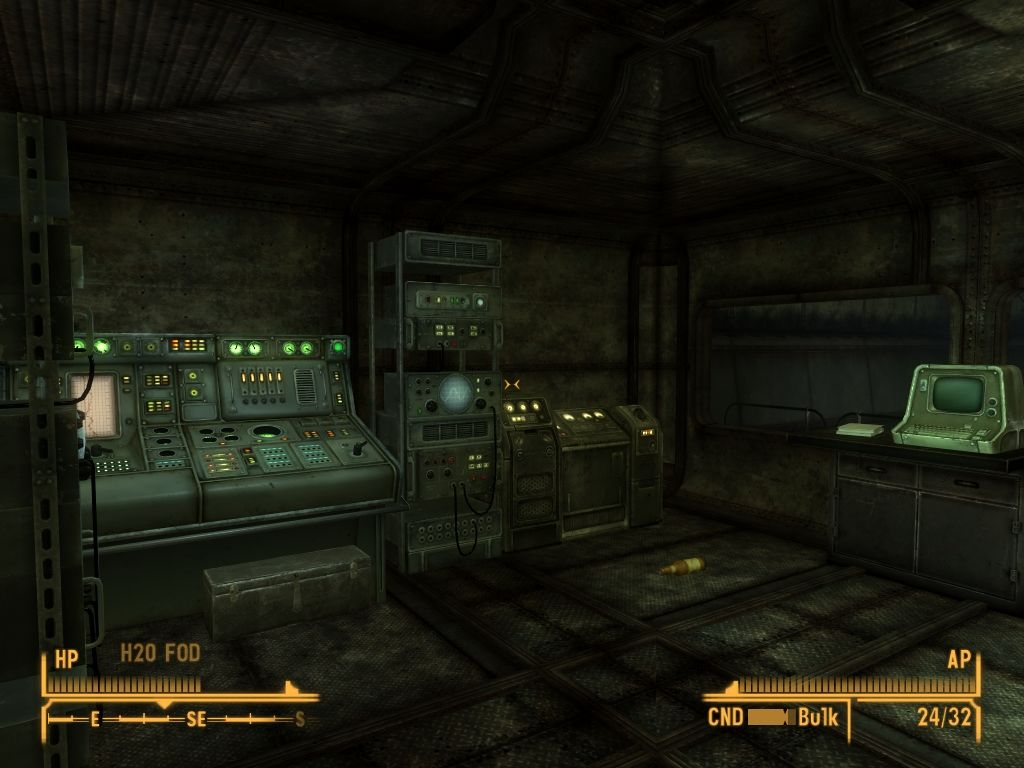 Fallout: New Vegas - Old World Blues Windows Typical control panels