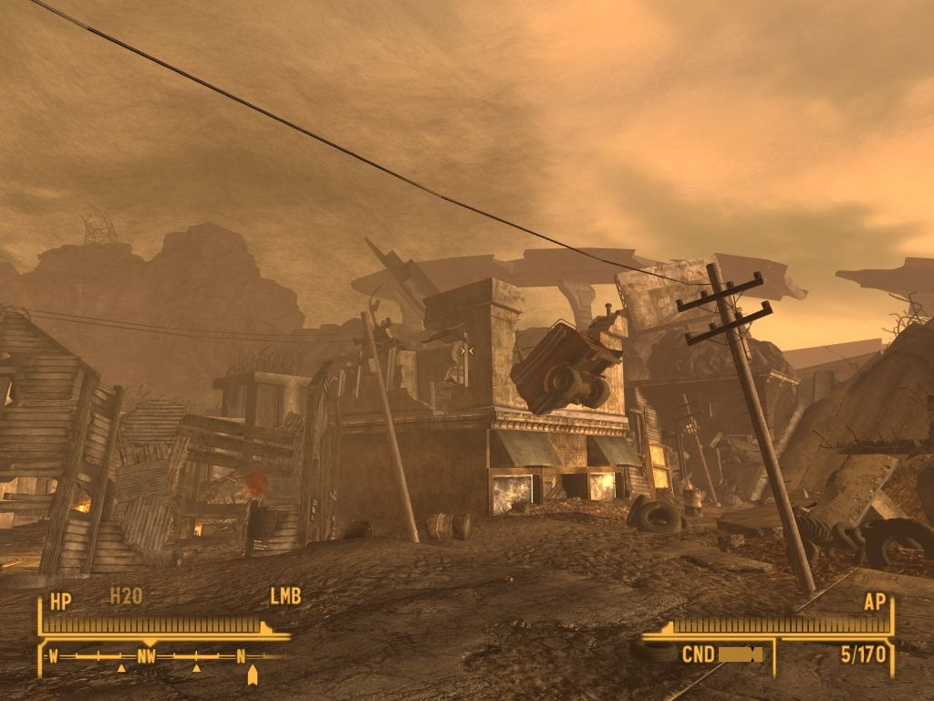 Fallout: New Vegas - Lonesome Road Windows Its still feels like the war just had ended.