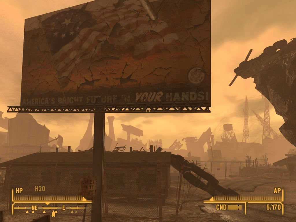 Fallout: New Vegas - Lonesome Road Windows The future doesn't look too bright