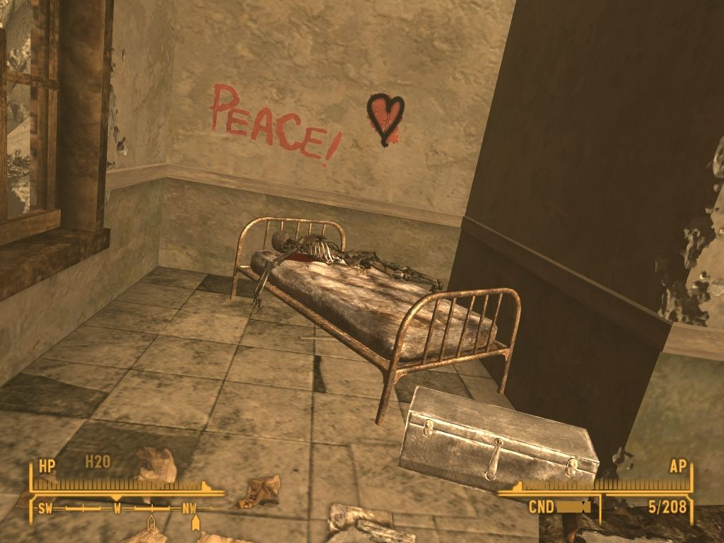 Fallout: New Vegas - Lonesome Road Windows Is he at peace now?