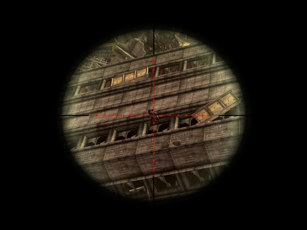 Fallout: New Vegas - Lonesome Road Windows Sniping marked men.