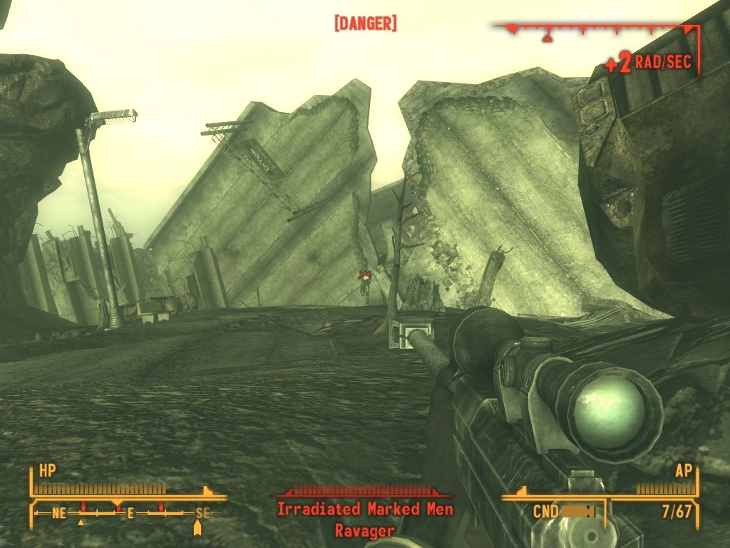 Fallout: New Vegas - Lonesome Road Windows Humans trapped here had become marked med - skinless and ghoulish.