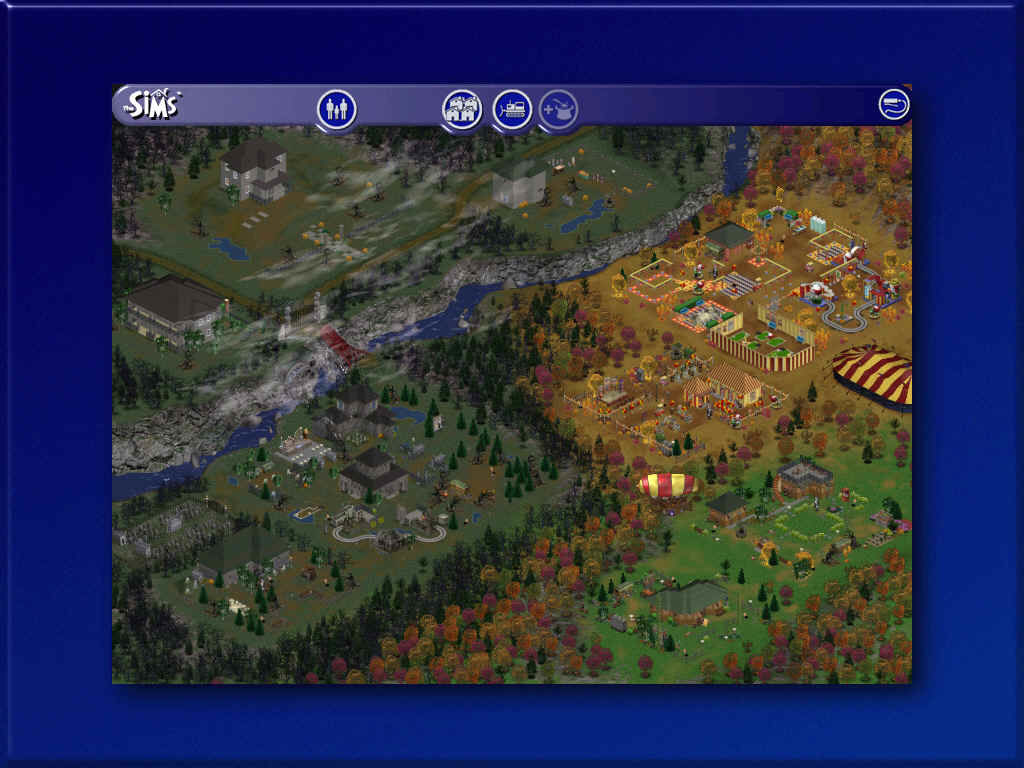 The Sims: Makin' Magic Windows Magic Town has six magic community lots, as well as three residential lots.