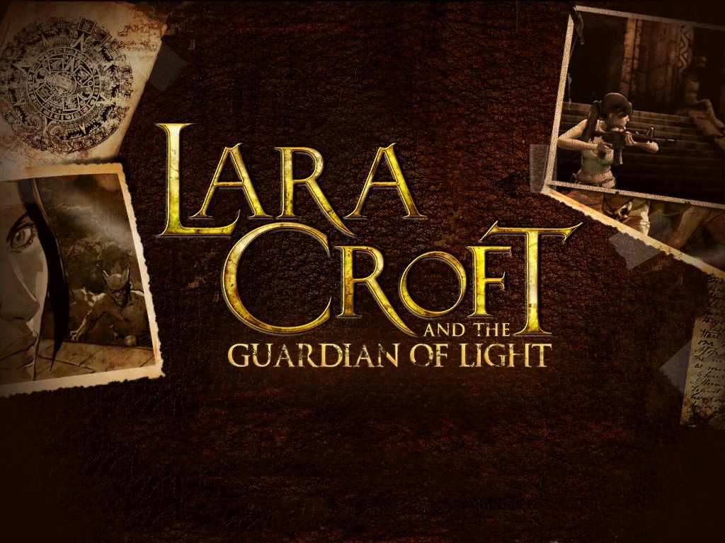 Lara Croft and the Guardian of Light iPad Title