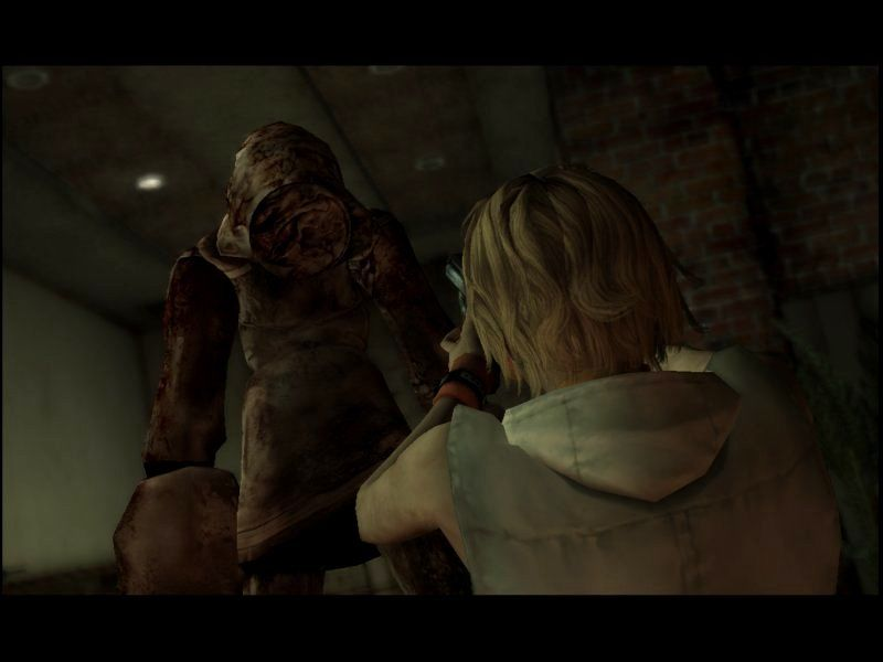 Silent Hill 3 Windows Good thing someone left this gun so close to the first monster I would encounter in the game!
