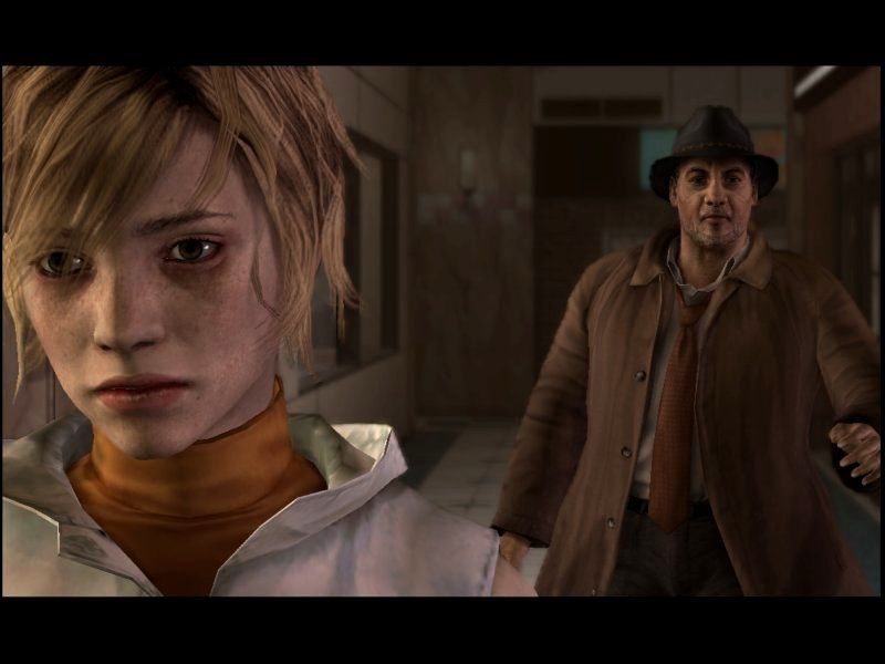 Silent Hill 3 Windows When Harry Mason woke up from his nightmare in SILENT HILL 1, he was greeted by a foxie of a cop girl called Cybill... and I have to do with this filthy bum excuse for a detective?
