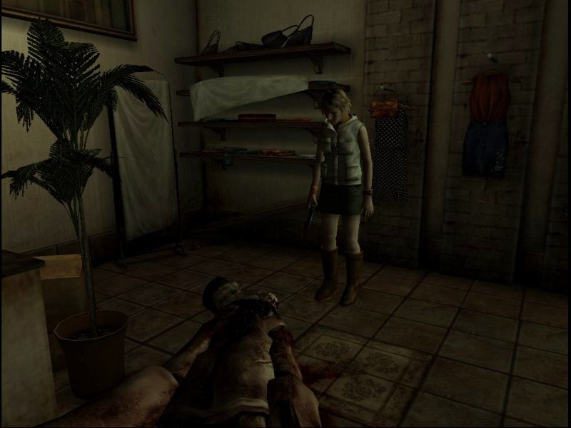 Silent Hill 3 Windows ...And this is the point where things start to get officially f*cked up.