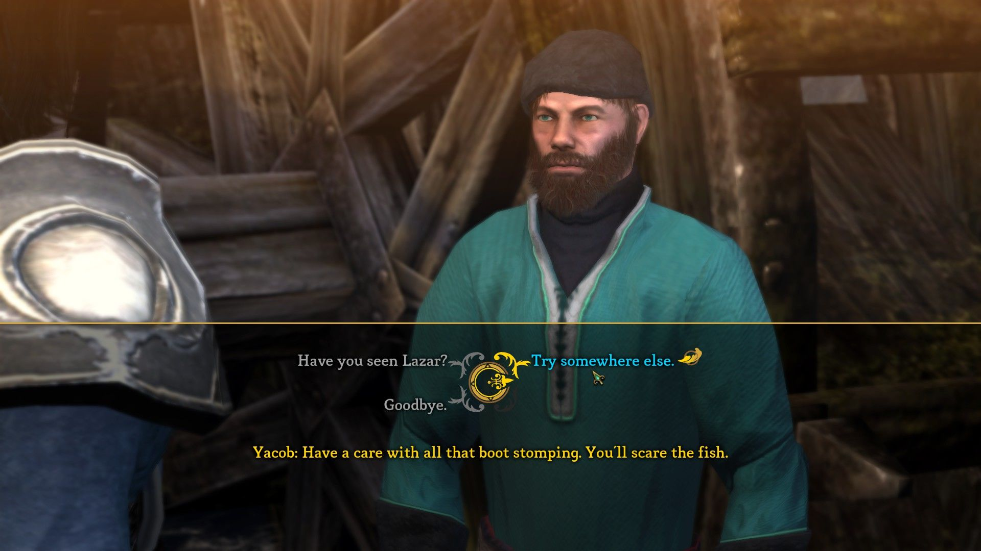 Dungeon Siege III Windows Speaking to an NPC