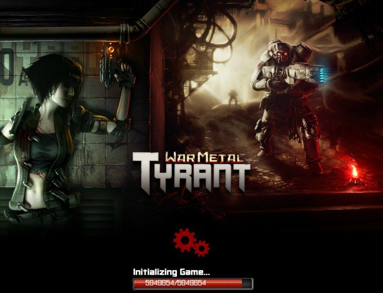 War Metal: Tyrant Browser Loading screen