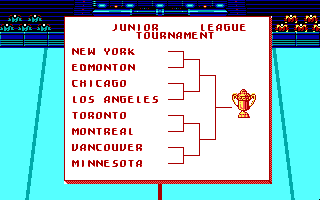 Blades of Steel DOS Junior League Tournament (EGA)